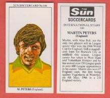 England Martin Peters Norwich City